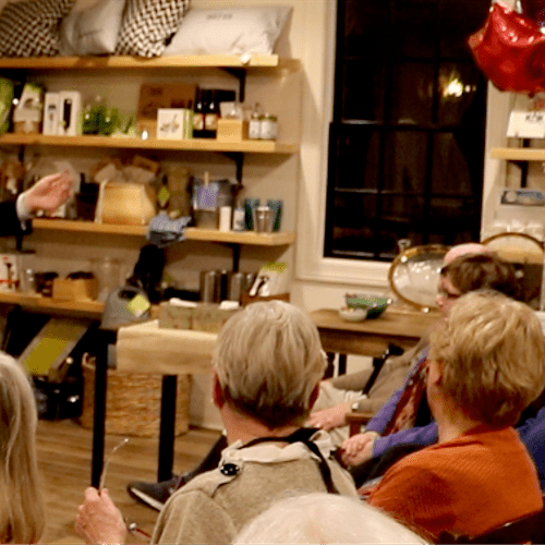 Performing at Kate's Simple Eats in Marion, Ma.