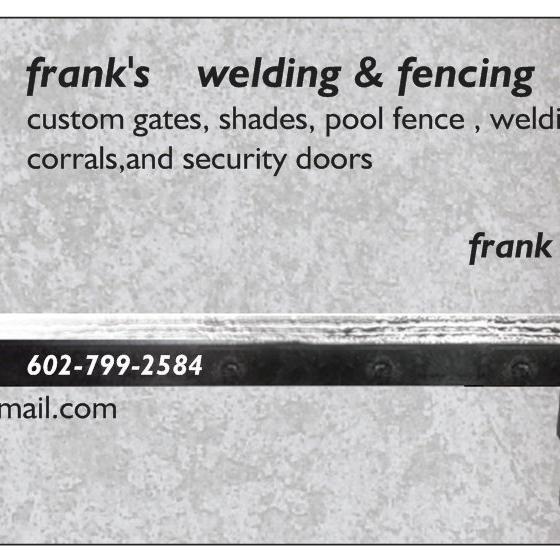 Frank's  Fencing