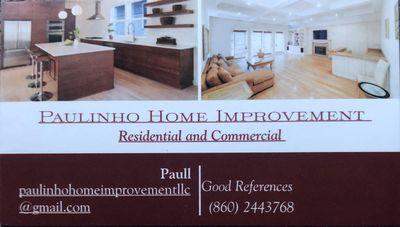 Avatar for Paulinho Home Improvement LLC Manchester, CT Thumbtack