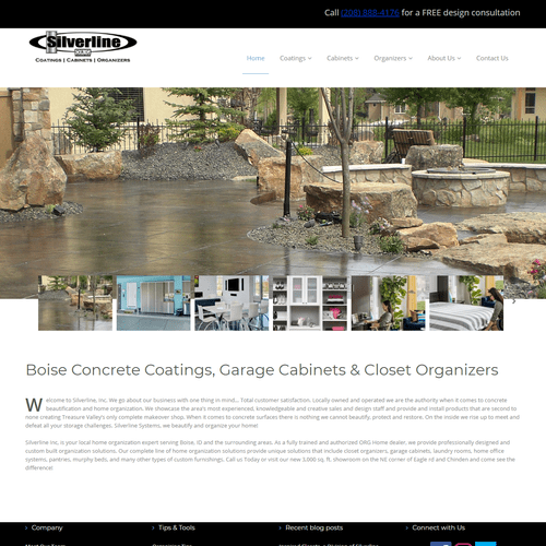 Successful Lead Generation Site, Responsive Design, Easy to Manage, Photo Galleries