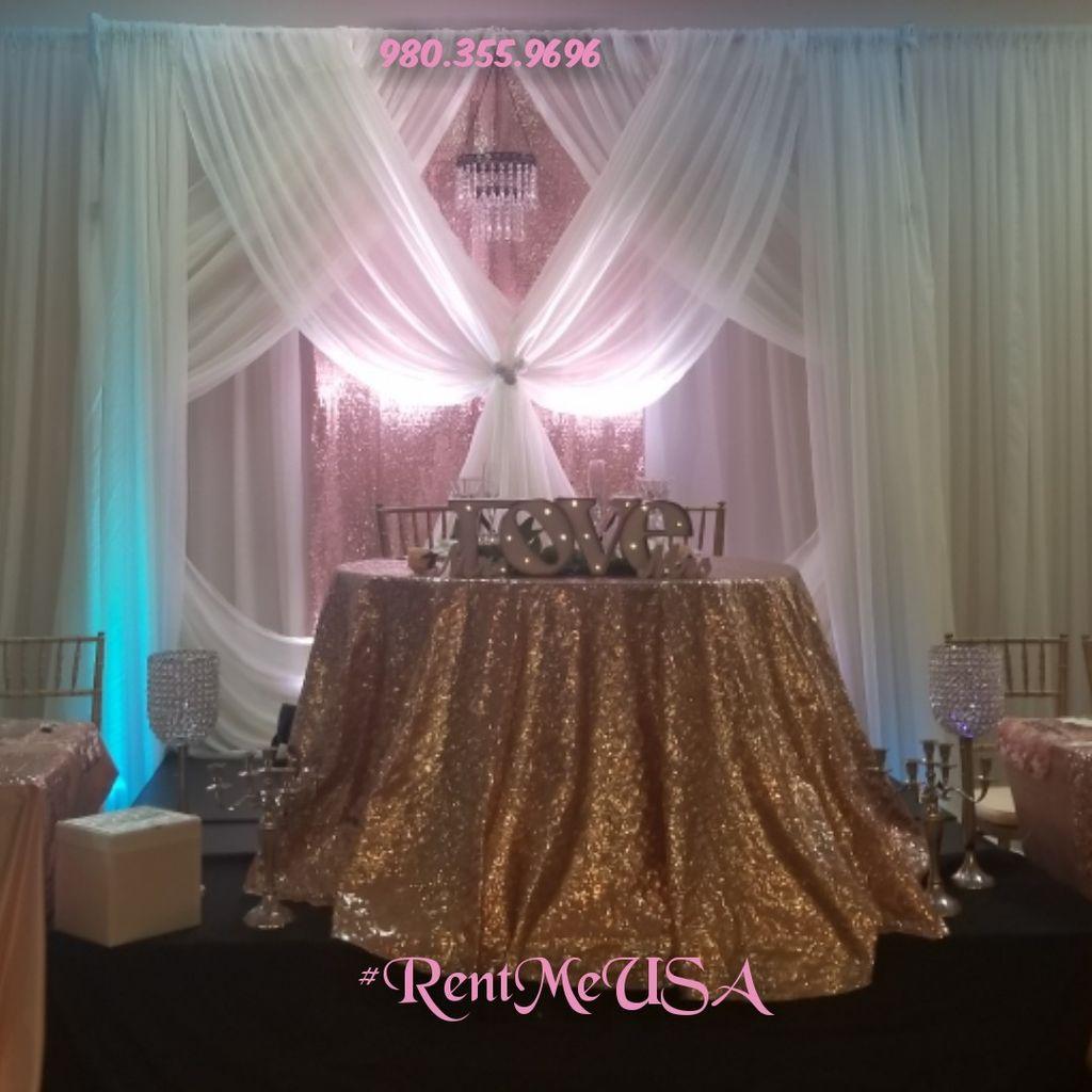 Wedding Decor & Party Rentals