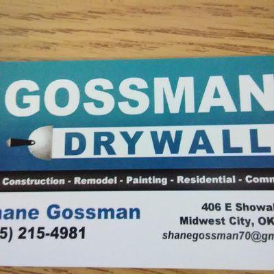 Avatar for Gossman Drywall