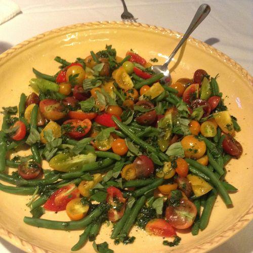 Summer Vegetable Salad with Herb Dressing