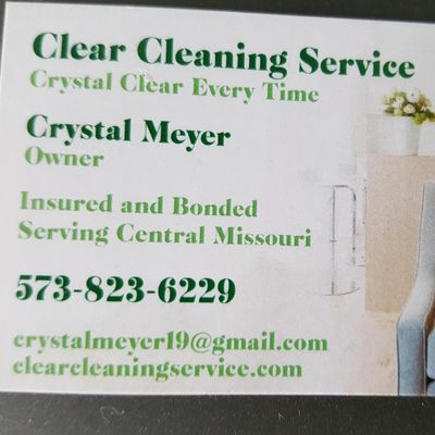 Avatar for Clear Cleaning Service Columbia, MO Thumbtack