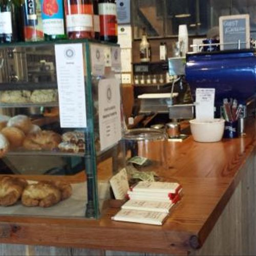 If you're in Brooklyn, please stop The Daily Press, a great little coffee shop in Bed-Stuy, and one of our clients.