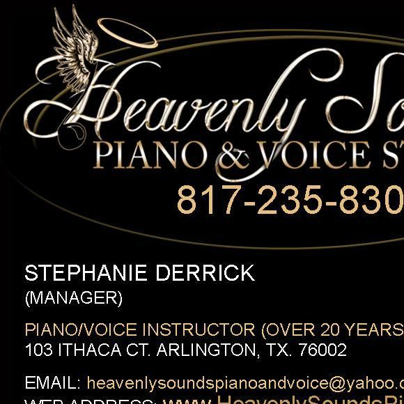 Heavenly Sounds Piano and Voice Studio