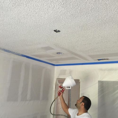 We are Drywall Experts, knockdown etc.