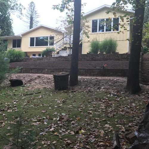 Retaining Wall and Stair Project