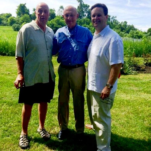 SERAPH CEO Dale Yeager with former CIA Director James Woolsey.