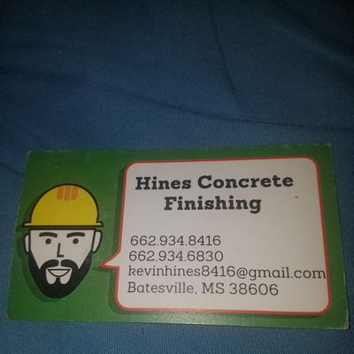 Avatar for Hines concrete finishing