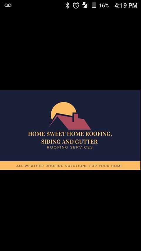 Home Sweet Home Roofing and Siding