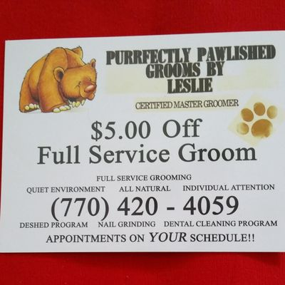 Avatar for Perfectly Pawlished Grooming New Orleans, LA Thumbtack