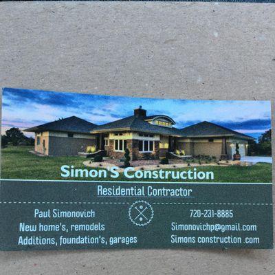 Avatar for Simon's construction