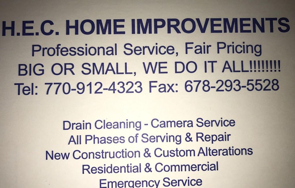 HEC Home Improvements
