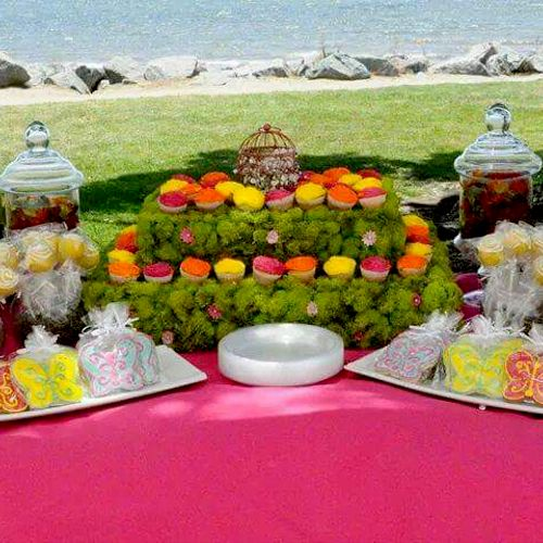 Baby Shower Event - Sweets Table
