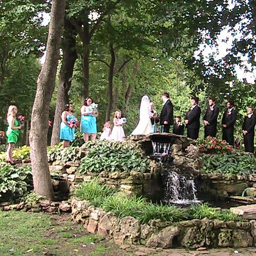 Springfield Botanical Gardens Knight-Long Wedding