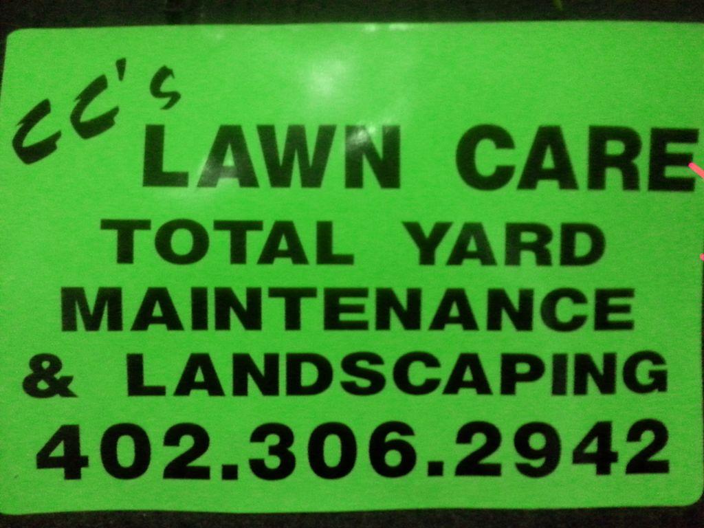 CC's Lawn Care & snow removal