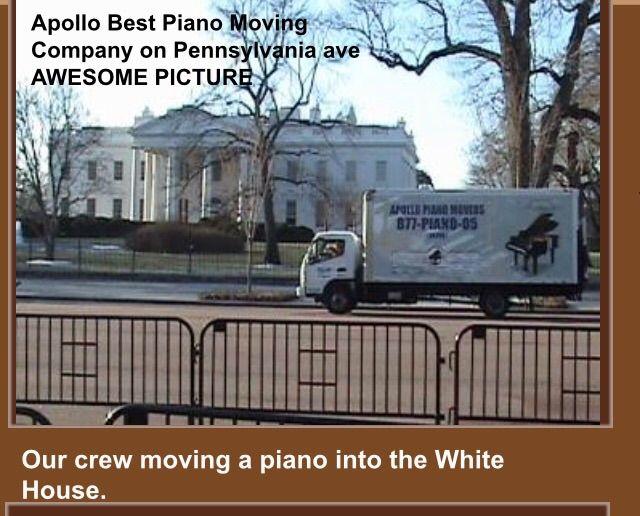 Apollo Best Piano Moving Company