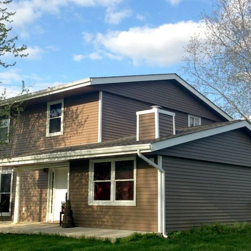 Roof, Siding, Gutters, Fascia, Soffit, Wall Insulation