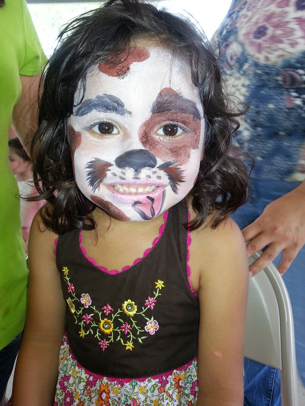 Lovely Designs Face Painting