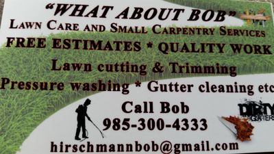 Avatar for What About Bob? Gulfport, MS Thumbtack