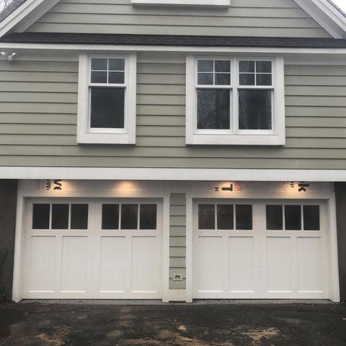 3 Section Custom Wood Doors   Woodbridge,CT