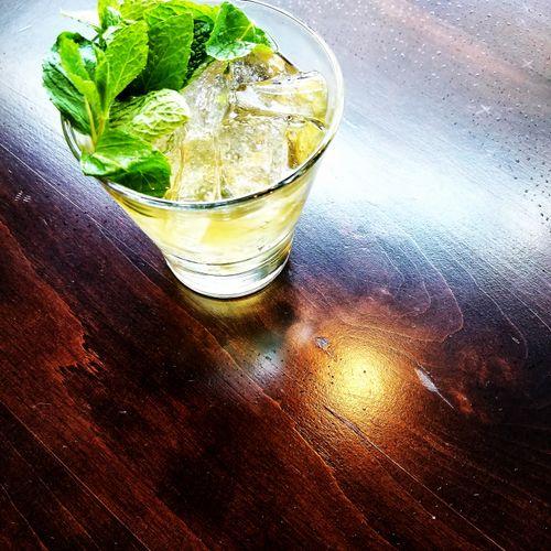 Mint Julep (Base spirit: bourbon)