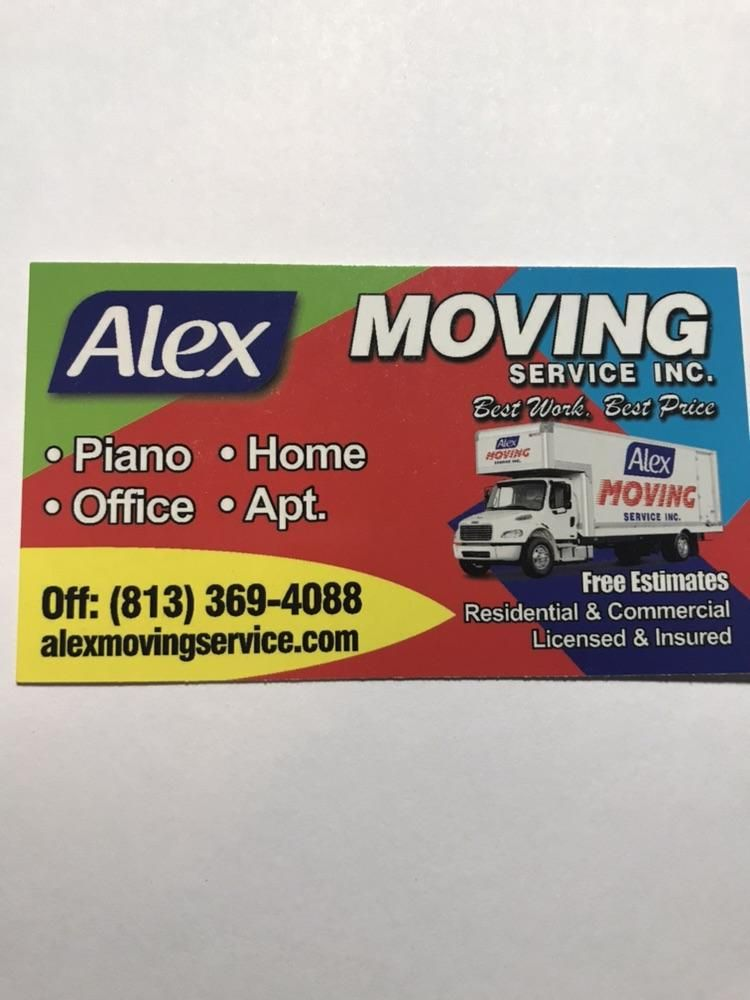 Alex moving service