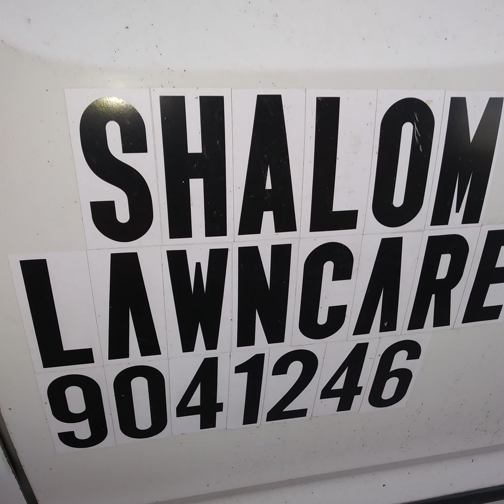 Shalom Lawnmower and painting and asfalt repair...
