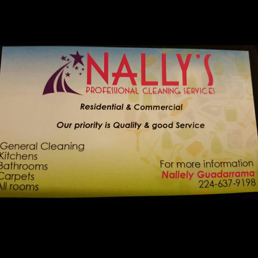 Nally's professional cleaning services