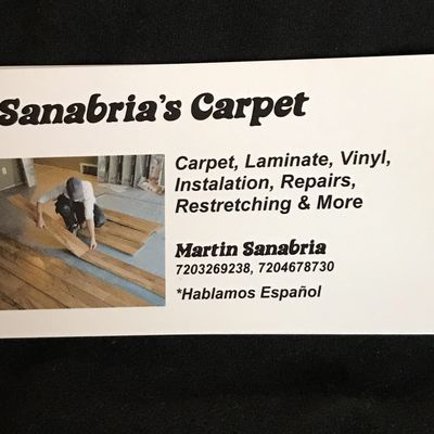 Avatar for Sanabria's Carpet Denver, CO Thumbtack