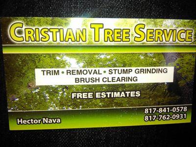 Cristian tree service Fort Worth, TX Thumbtack
