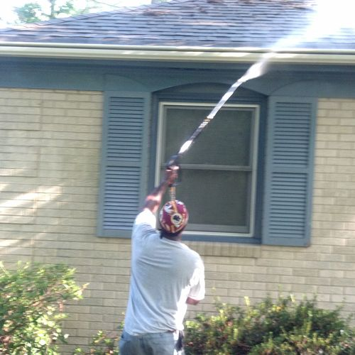 RESIDENTIAL-PRESSURE WASHING-EXTERIOR