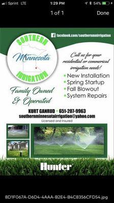 Avatar for Southern Minnesota Irrigation LLC Zumbrota, MN Thumbtack