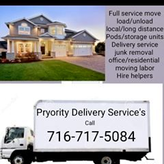 Pryority Moving & Delivery Service's