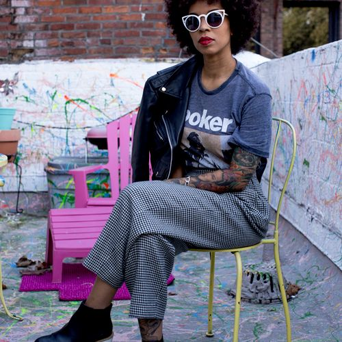Editorial Fashion feature with Seattle activist.