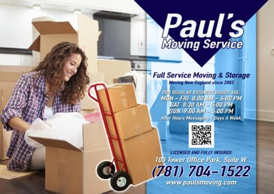 Avatar for Paul's Moving Service Woburn, MA Thumbtack