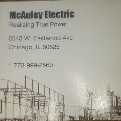 Avatar for McAuley Electric