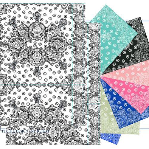 Textile Designs in Repeat
