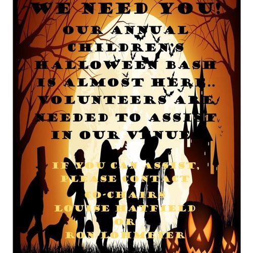Poster for Halloween event. Fraternal Order of Eagles, Atlanta 2015