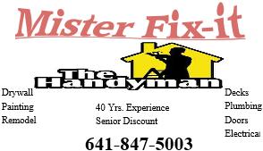Avatar for Mr. Fix-it Eldora, IA Thumbtack