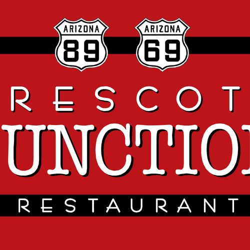 Sign & logo for a diner in Prescott, Arizona