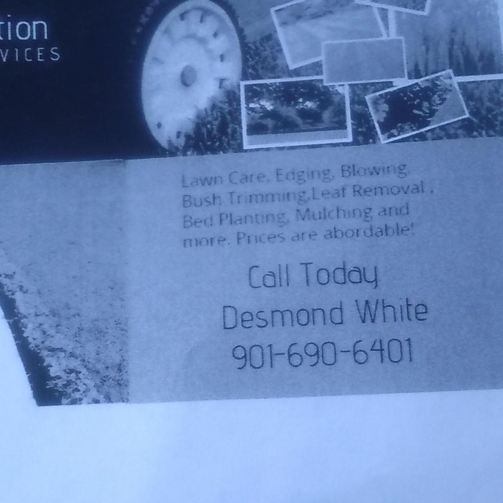White's Perfection Landscaping Service