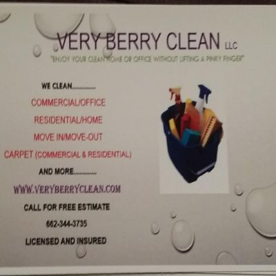 Avatar for Very Berry Clean LLC Greenville, MS Thumbtack