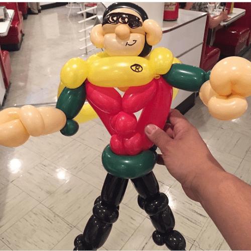 Level 3 Superhero, Robin