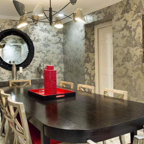 Bronxville Home Dinning Room