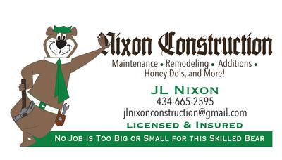 Avatar for Nixon Construction LLC Elliston, VA Thumbtack