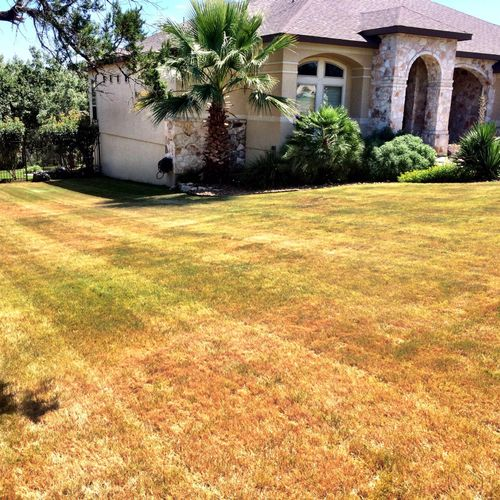 San Antonio Lawn Mowing, gated community lawn care