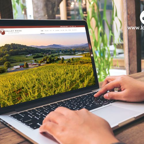 Responsive Website Redesign for a Winery and Vineyard