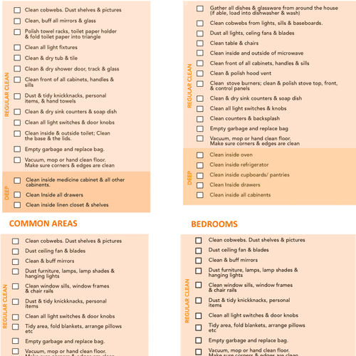 Our 58 Point Checklist